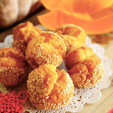 Sesame Cookie Balls Recipe   SideChef