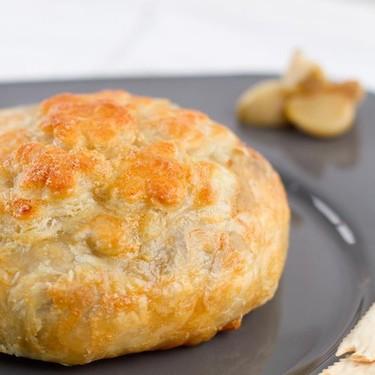 Roasted Garlic and Mushroom Brie en Croute Recipe | SideChef