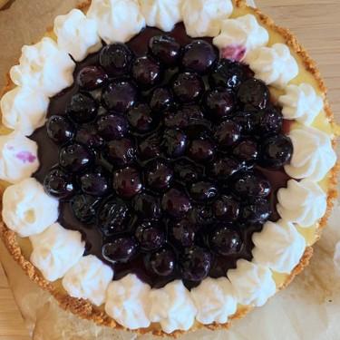 Lemon Blueberry Cheesecake Recipe   SideChef
