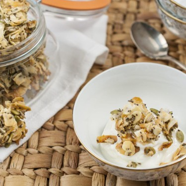 Seed and Almond Coconut Clusters Recipe   SideChef