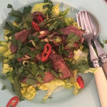 Spicy Steak Salad / Yum Neua Recipe | SideChef