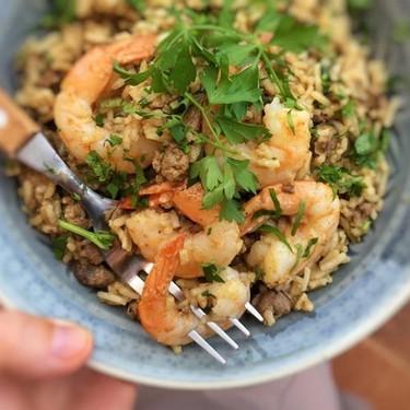 Dirty Rice with Shrimp Recipe | SideChef