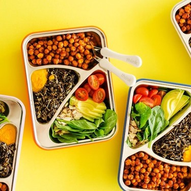 Crispy Chickpea Bowls with Carrot Ginger Dressing Recipe   SideChef