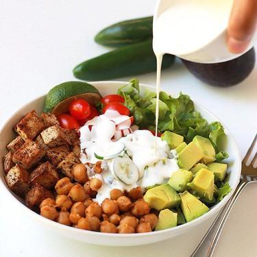 Spicy Chickpea Burrito Bowl Recipe   SideChef