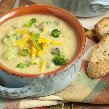 Broccoli Cheddar Soup Recipe   SideChef
