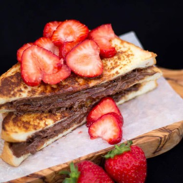 Strawberry Nutella French Toast Recipe   SideChef
