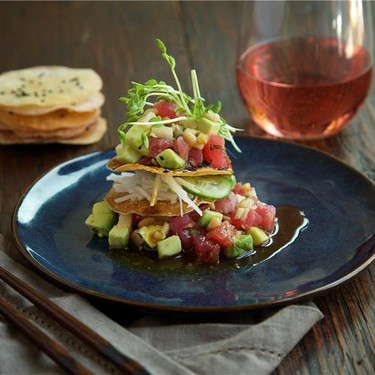 Ahi Poke with Asian Pear and Avocado Recipe | SideChef