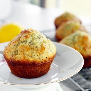Lemon Chia Seed Muffins Recipe | SideChef
