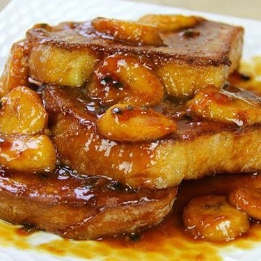 Coconut French Toast with Caramel Passionfruit Sauce Recipe | SideChef