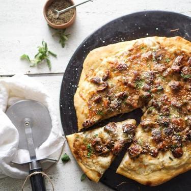 Mushroom Marsala Pizza Recipe | SideChef