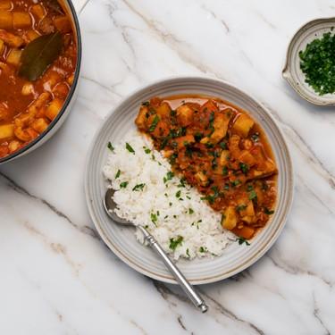 Spiced Tomato Pork Stew Recipe   SideChef