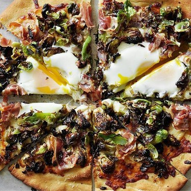 Brussels Sprouts and Pancetta Pizza Recipe | SideChef