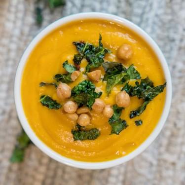 Turmeric Butternut Blender Soup Recipe | SideChef