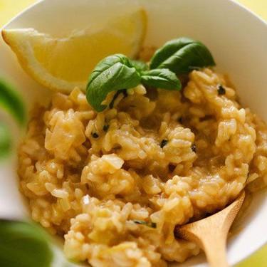 Lemon Basil Risotto Recipe   SideChef