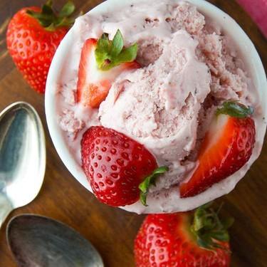 Strawberry Daiquiri Ice Cream Recipe   SideChef