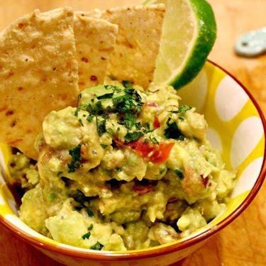 Fresh Guacamole with Cilantro + Lime Recipe | SideChef