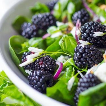 Blackberry Basil Salad Recipe | SideChef