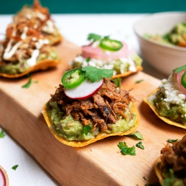 Loaded Guacamole Tostadas Recipe   SideChef