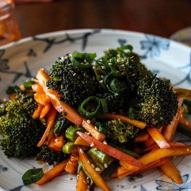 Apple Broccoli Salad + Sweet & Spicy Gochujang Dressing Recipe | SideChef