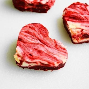 Red Velvet Cheesecake Hearts Recipe | SideChef