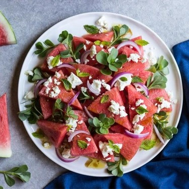 Watermelon Feta Salad Recipe | SideChef