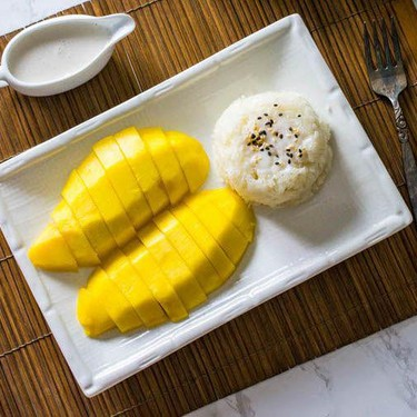 Thai Mango with Sticky Rice Recipe | SideChef