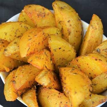 Herbed Potato Wedges Recipe | SideChef