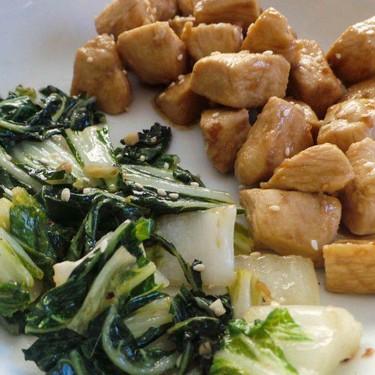 Asian Chicken with Bok Choy Recipe   SideChef