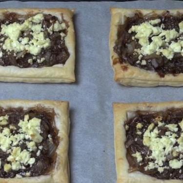 Caramelized Onion Tarts Recipe   SideChef