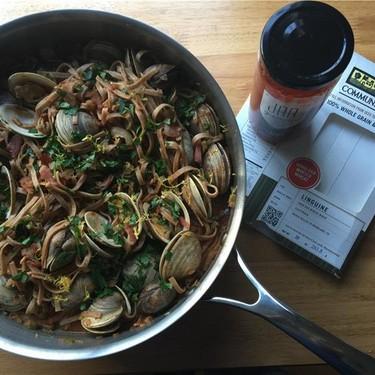Whole Wheat Linguine & Red Clam Sauce Recipe | SideChef