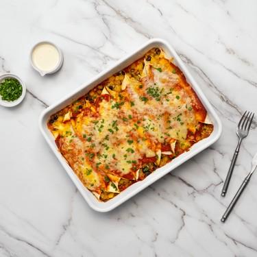 Potato and Mushroom Enchiladas Recipe | SideChef