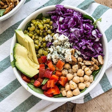Purple Cabbage and Split Pea Power Bowl Recipe   SideChef