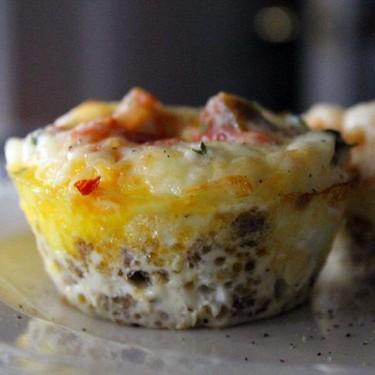 Sausage Salsa Egg Muffins Recipe | SideChef
