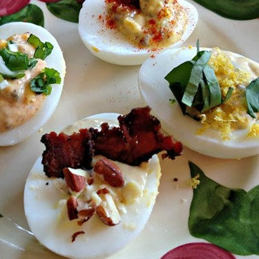 Deviled Eggs FourWays Recipe   SideChef