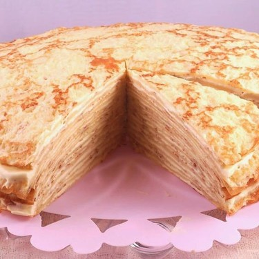 French Mille Crepe Cake Recipe   SideChef
