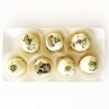 Low-Carb Spinach & Mushroom Egg Bites Recipe   SideChef