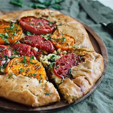 Fresh Corn and Tomato Crostata Recipe | SideChef