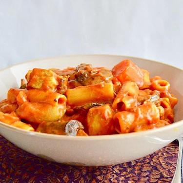 Curried Chicken Veggie Pasta Recipe | SideChef
