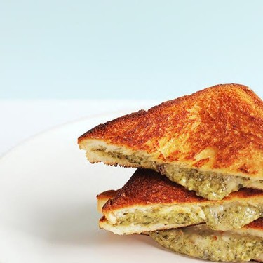 Spinach & Artichoke Grilled Cheese Recipe   SideChef