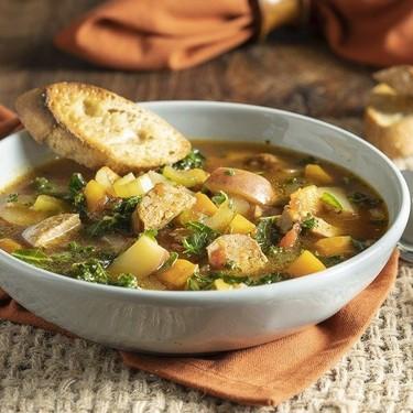 Rustic Potato and Sausage Soup Recipe   SideChef