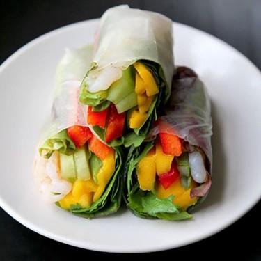 Mango and Shrimp Summer Rolls Recipe | SideChef