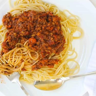 Vegan Spaghetti Bolognese Recipe   SideChef