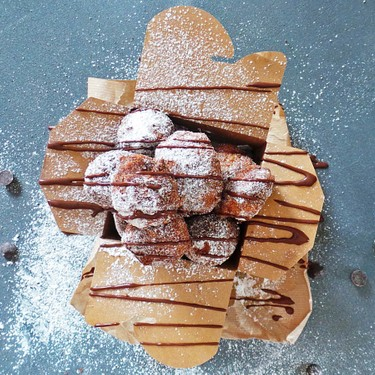 Donut Holes with Kahlua Ganache Recipe | SideChef