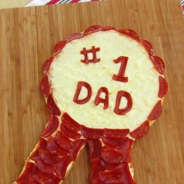 Father's Day Pepperoni Pizza Ribbon Recipe | SideChef