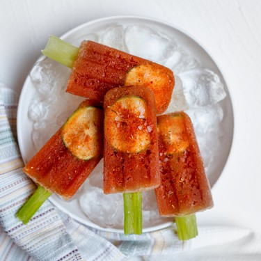 Bloody Mary Popsicles with Homemade Tomato Juice Recipe   SideChef