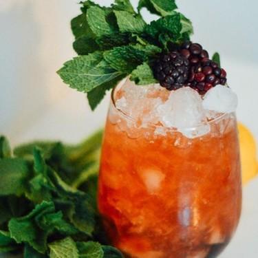 Mint and Blackberry Bramble Recipe   SideChef
