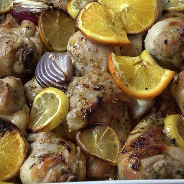 Oven Roasted Citrus Chicken Recipe | SideChef