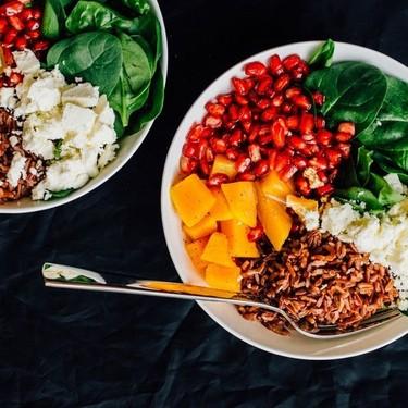 Autumn Salad with Pomegranate Vinaigrette Recipe   SideChef