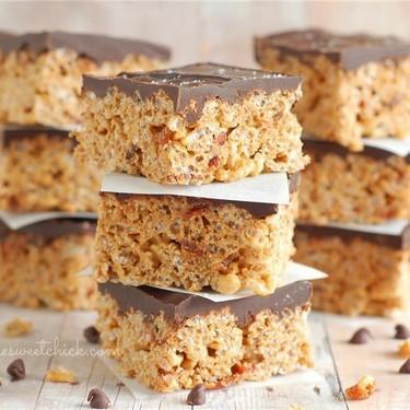 Maple Bacon Rice Krispy Treats Recipe | SideChef