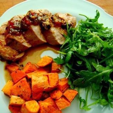 Tangerine Rosemary Pork Tenderloin Recipe | SideChef